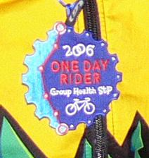 One Day Finisher Badge