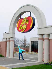 Entrance to Jelly Belly Factory